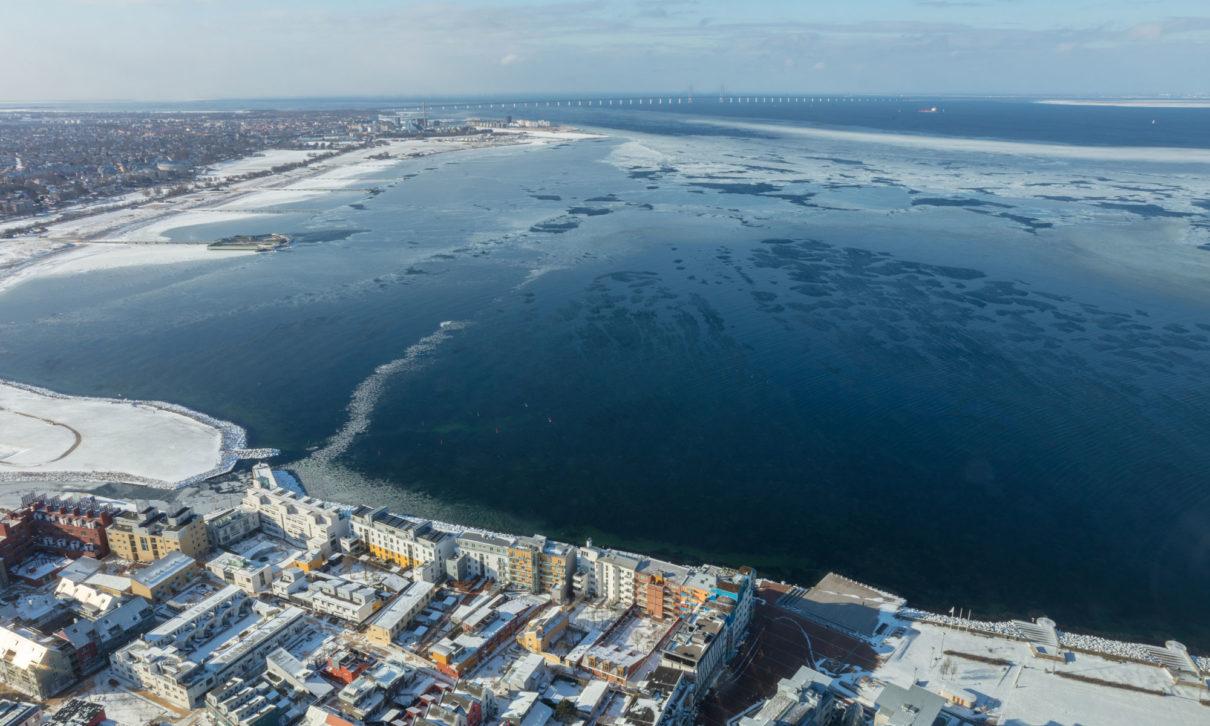Vinter i Västra Hamnen